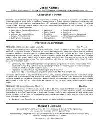 Plant Superintendent Resume Manufacturing Supervisor Resume Great