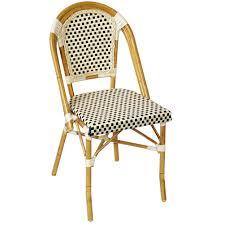 outdoor restaurant chairs. Aluminum Bamboo Patio Chair Outdoor Restaurant Chairs 1