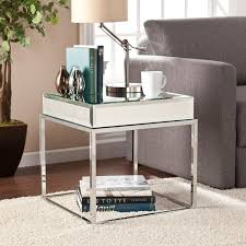 bernie and phyls coffee tables dana mirrored end table bernie and phyls 8