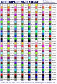 Colors Rgb Rgb Color Table