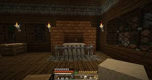How To Make An OldFashioned Fire Place In MineCraft  An IDN Fireplace In Minecraft
