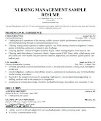 Nurse Manager Resume Nursing Director Resume Objective For A Nursing
