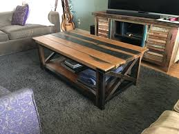 how to build rustic furniture. Furniture:Side Tables I Could See Doing This With Upended Trash Cans And As Wells How To Build Rustic Furniture