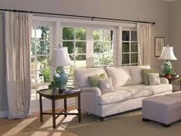 Window Treatment For Large Living Room Window Living Room Rodanluo