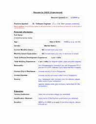 Resume Format For Experienced 24 Luxury Pictures Of Sample Resume Format For Experienced 19