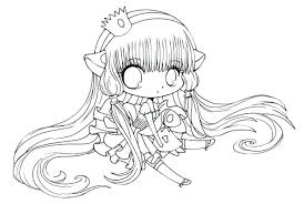 Coloring Pages Cute Girl Coloring Pages For Girls Easy Medium