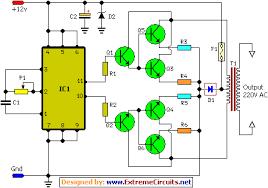 build 100w inverter elektronıl circuit diagram how to build inverter circuit schematic circuit diagram