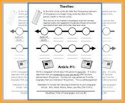 Timeline Template For Student | Nfcnbarroom.com