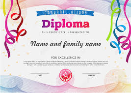 diploma color full template and chart borders royalty  diploma color full template and chart borders stock vector 42471339
