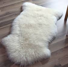 image of faux sheep skin rug 137 unique decoration and nouvelle legendear intended for faux