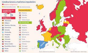 Consultad el plano de carreteras con la visión satelital de google. Los 18 Paises Europeos Que Aplican Cuarentena O Desaconsejan Los Viajes Desde Espana Economia Cinco Dias