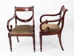 An Absolutely Fantastic English Made Set Of Eight Regency Style Dining  Chairs These Chairs Have Regency Furniture M54