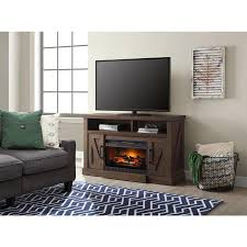whalen 54 in w madison snow ash infrared quartz electric fireplace