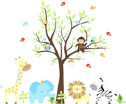 jungle wall stickers large size of kids room nursery animals baby jungle wall decals suitable for interior inside stickers jungle wall stickers uk