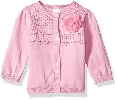 Gymboree Baby Shoe Size Chart Amazon Com Gymboree Baby Girls Long Sleeve Classic Cardigan