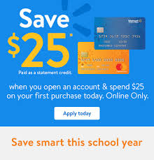 Learn how to use your discover card with walmart pay. Walmart Online Only Open A Walmart Credit Card Save 25 When You Spend 25 Milled