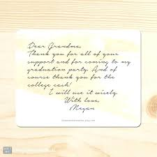 Graduation Thank You Note Writing Graduation Thank You Cards Image 0 1 2 Atelier B
