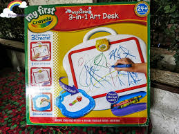crayola art desk toddlers