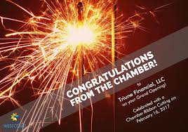 Congratulation For New Business Congratulations On Opening Your New Business Michigan West Coast