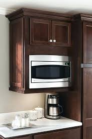 microwave wall cabinet a wall built in microwave cabinet keeps counter clear and is designed to microwave wall cabinet