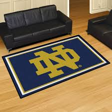 university of notre dame fighting irish logo nylon plush carpet area rug nd x deer rugs wildlife mission style art deco rustic memory foam bath cowhide