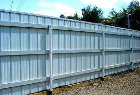 corrugated metal fence panels sheet metal fence corrugated metal fence panels home decorating ideas outside