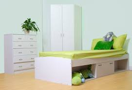 Oslo Bedroom Furniture Oslo Bed Corner Wardrobe And Chest Of Drawer Childrens Bedroom Set