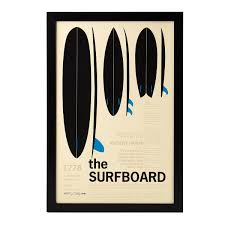 great gifts for surfers the surfboard encyclopedic print