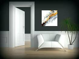 glass wall decor contemporary art accessories abstract painting fine print acrylic black and modern white hanging glass wall decor