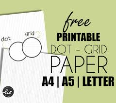 Free Printable Dot Grid Paper Free Printables Dot Grid Paper For Bullet Journal