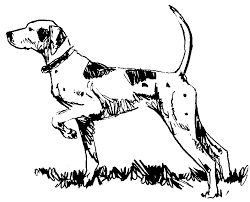 Small Picture Free Dog Coloring Page Clipart 4 pages of Public Domain Clip Art