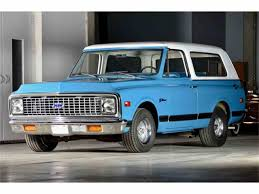 1972 Chevrolet Blazer for Sale | ClassicCars.com | CC-972093