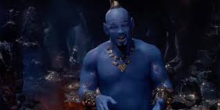 Genies Not Blue On Disneys Aladdin Poster Cbr