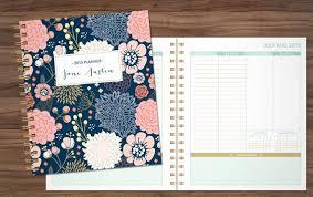 2015 Planner Personalized Planner Student Planner Teacher