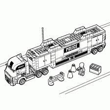 Leuk Voor Kids Kleurplaat Lego City Betonwagen Lego Oneletterco
