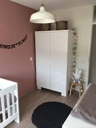 Babykamer Met Kleuren Oud Roze Grijs Wit En Goud Tekstslinger