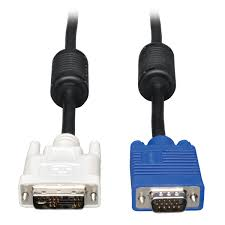 dvi to coax vga monitor cable dvi a to hd15 male 10 ft p556 010 dvi to coax vga monitor cable dvi a to hd15 male 10 ft p556 010 tripp lite