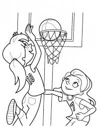 Girl Sports Coloring Pages At Getdrawingscom Free For Personal