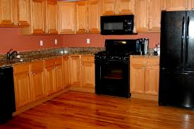 Kitchens With Black Appliances Decorating Ideas Modern And ...