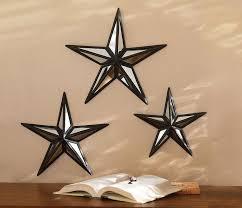 metal star wall decor