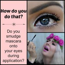 how to apply mascara no smudging top bottom lashes makeup tips you