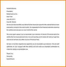 appeal letter for financial aid financial aid appeal letter sample
