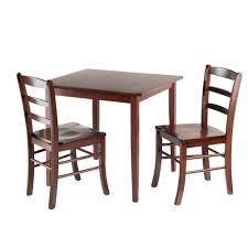 Three Piece Kitchen Table Set Exquisite 3 Piece Dinette Set At