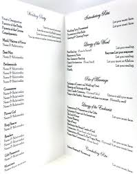 Catholic Wedding Ceremony Program Templates Catholic Wedding Ceremony Template Church Order Of Service Template