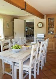 rustic white dining table. Wonderful Table White Farmhouse Table And Chairs Throughout Rustic Dining A
