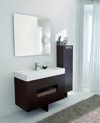 Italian Bathroom Suites Dark Bathroom Cabinets Wallmounted Dark Countertop White Bathroom