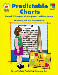 Predictable Charts Kindergarten Predictable Charts Grades K 1 Shared Writing For