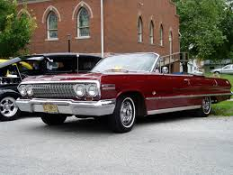 Wallpapers Chevrolet Impala 1963 Cars