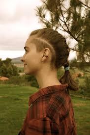 Womens Hair Sidecut Undercut Shaved Head Sides Woman