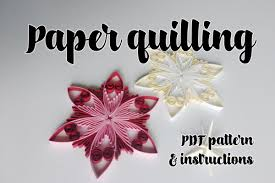 Quilling Patterns Extraordinary Quilling Pattern Stepbystep Diagram Design Bundles